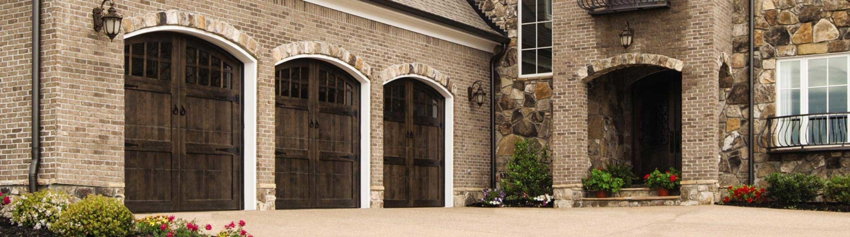 Custom Wood Garage Door With Stain Arched Find More Beautiful And Elegant Doors At Precision Of Los Angeles