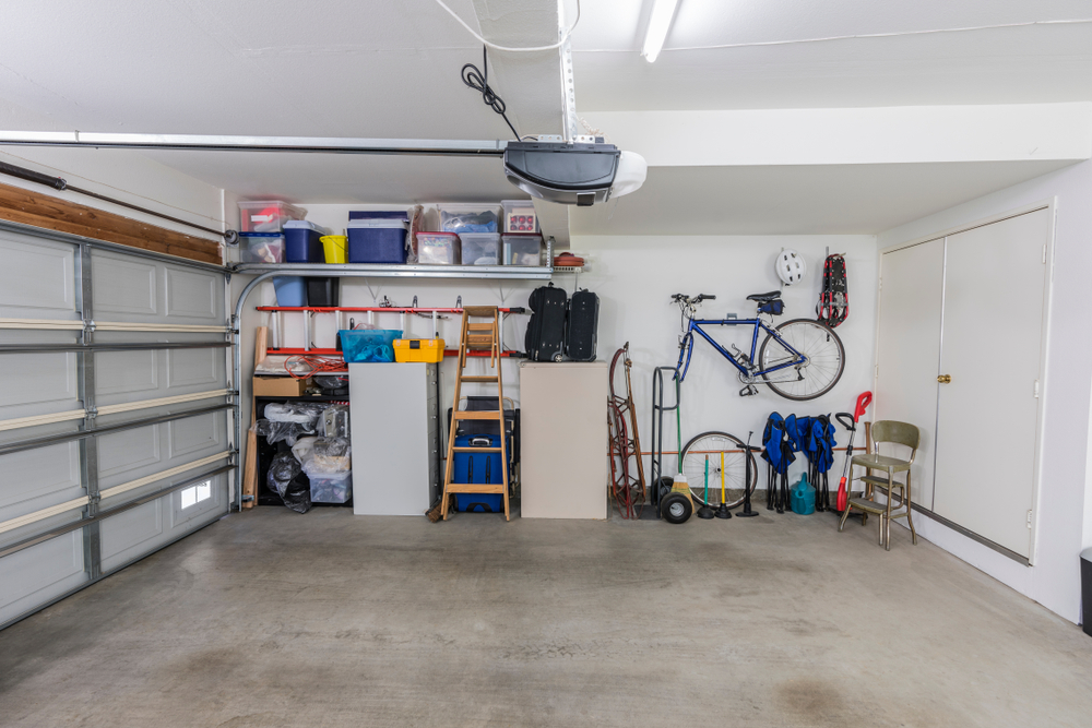declutter your garage and organize